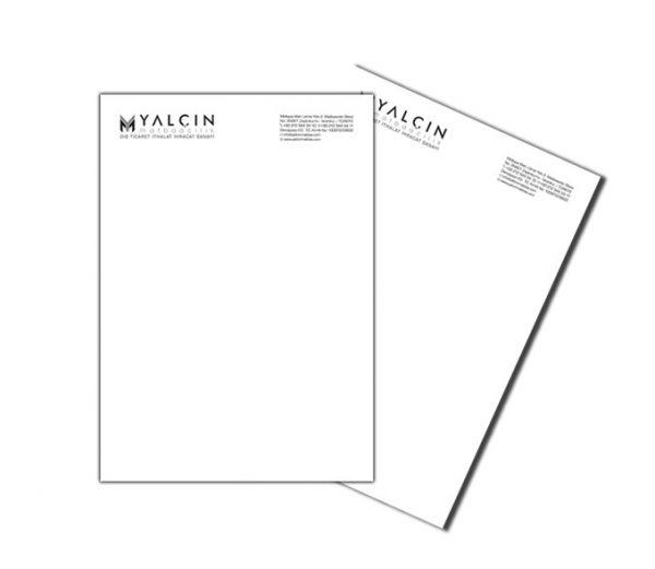 Antetli Kağıt YM-5040
