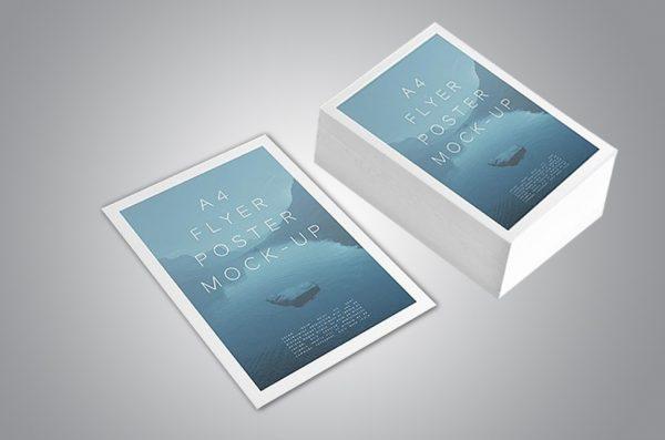 Broşür Çift Yön Renkli YM-A4