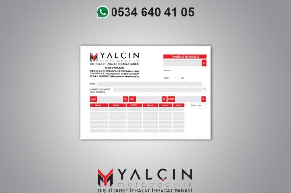 Tahsilat Makbuzu YM-5055 (10 Cilt 1+1)